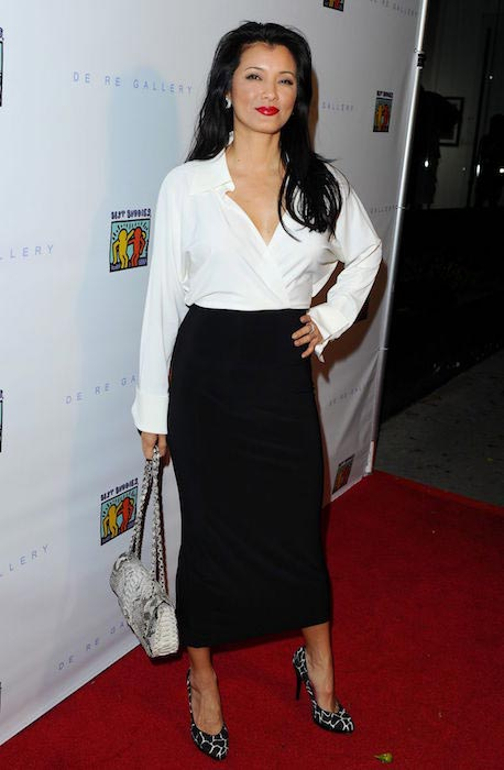 Kelly Hu art of Friendship Photo auction event West Hollywood March 3, 2016