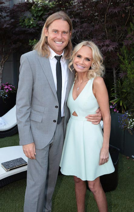 Kristin Chenoweth and Andrew Pruett at the social life magazine bash in July 2015