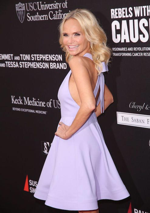 Kristin Chenoweth at the 3rd Biennial Rebels with a Cause Fundraiser event on May 11, 2016