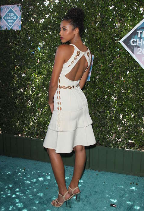 Kylie Bunbury at Teen Choice Awards 2016