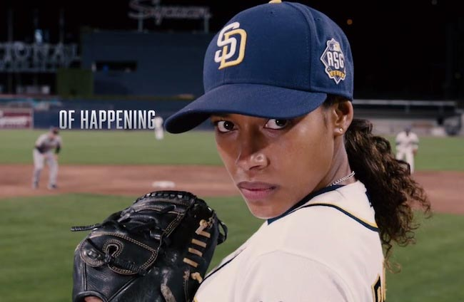 "Kylie Bunbury is a game changer in new poster for ""Pitch"""