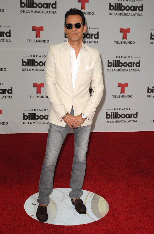 Marc Anthony at 2016 Billboard Latin Music Awards