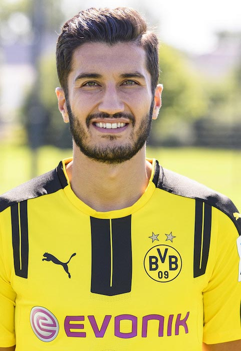 Nuri Sahin team Borussia Dortmund August 17, 2016