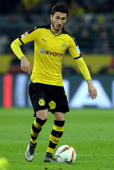 Nuri Sahin match between Borussia Dortmund and FSV Mainz 05 on March 13, 2016
