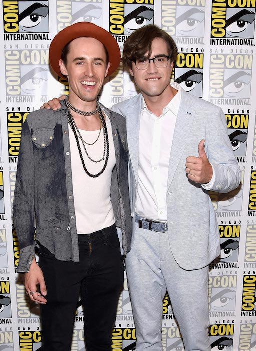 Reeve Carney and Ryan McCartan at Comic-Con International 2016