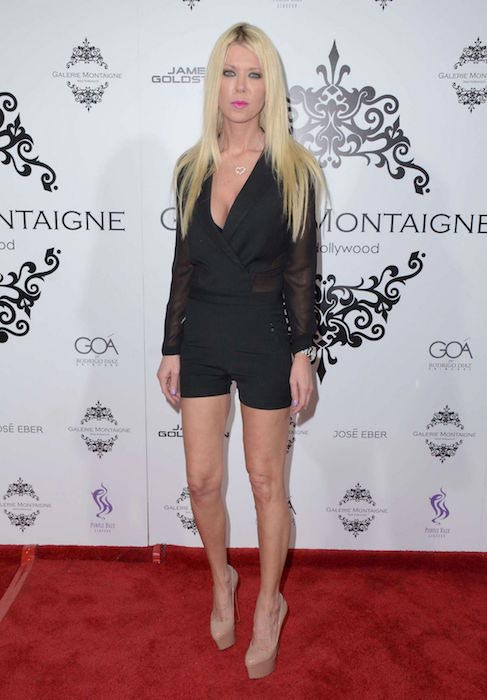 Tara Reid at the opening of Galerie Montaigne opening in Los Angeles on February 19, 2016