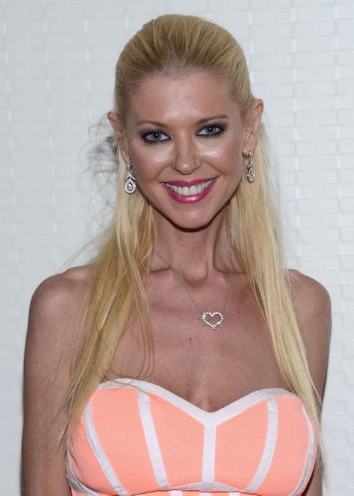 Tara Reid during the press meet of Sharknado, the 4th Awakens at Comic-Con on July 22, 2016