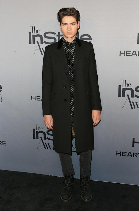 Will Peltz at the 2nd annual InStyle Awards in October 2016