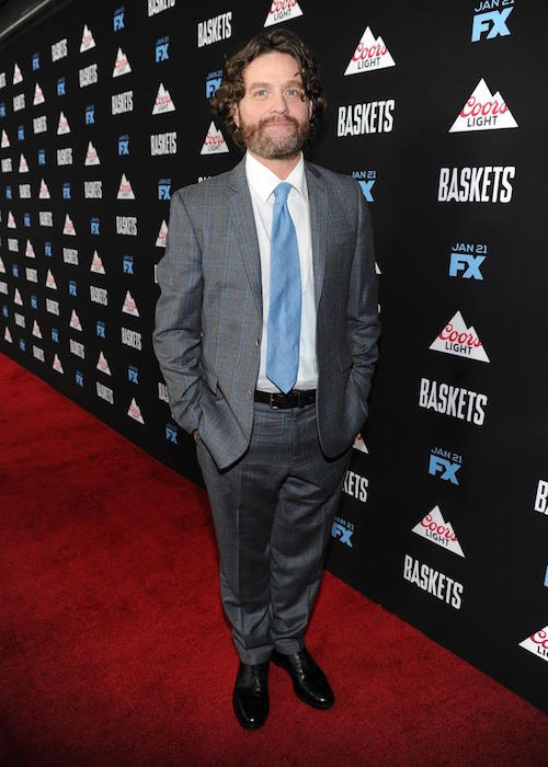 Zach Galifianakis Baskets premiere January 2016