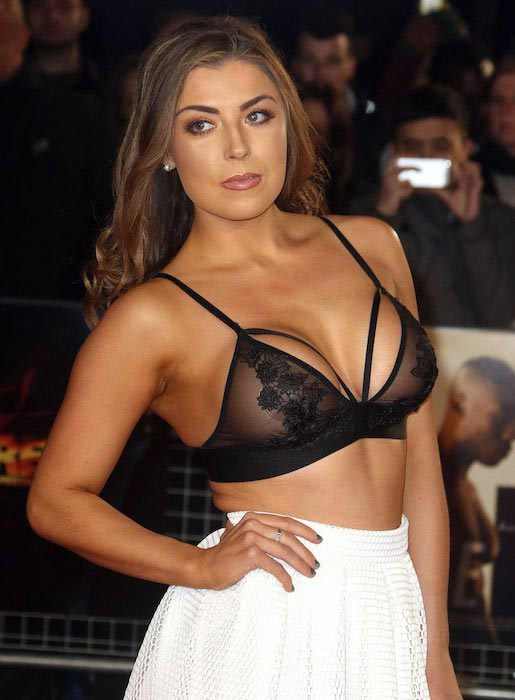 "Abigail Clarke at the UK Film premiere of ""The Pass"" in March 2016"