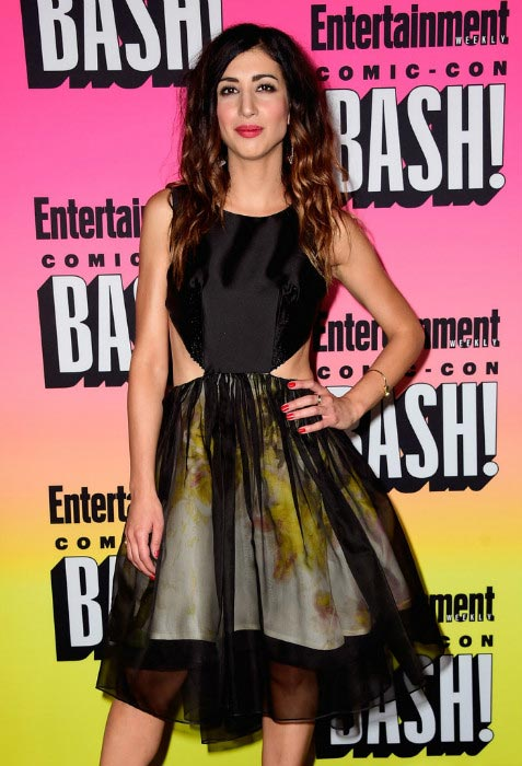 Alanna Masterson at the Entertainment Weekly's Comic-Con Bash in July 2016