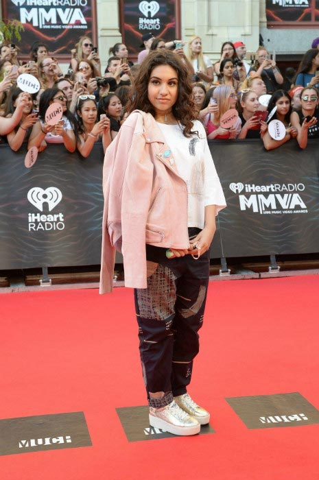 Alessia Cara at the iHeartRADIO MuchMusic Video Awards in June 2016