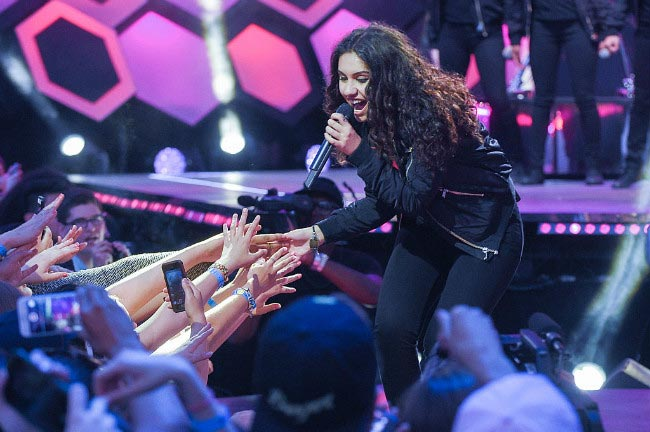 Alessia Cara performs at the 2016 iHeartRADIO MuchMusic Video Awards