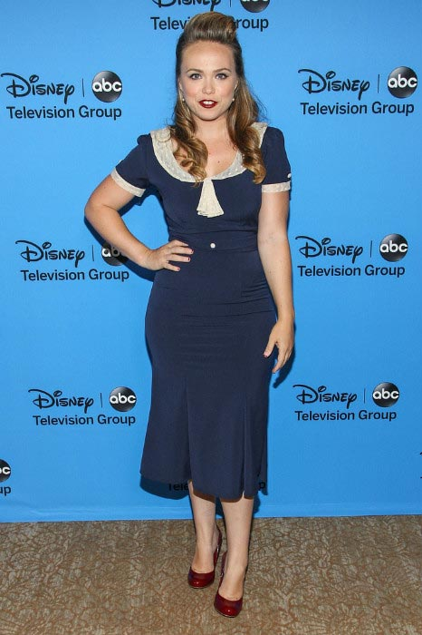 Amanda Fuller at the 2013 Summer TCA Tour in Los Angeles