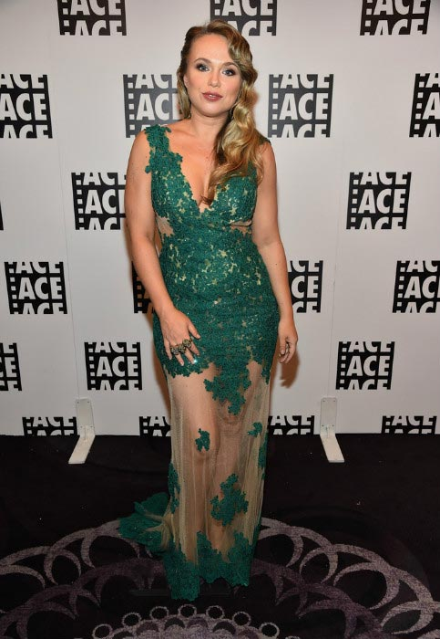 Amanda Fuller at the 65th Annual ACE Eddie Awards on January 30, 2015