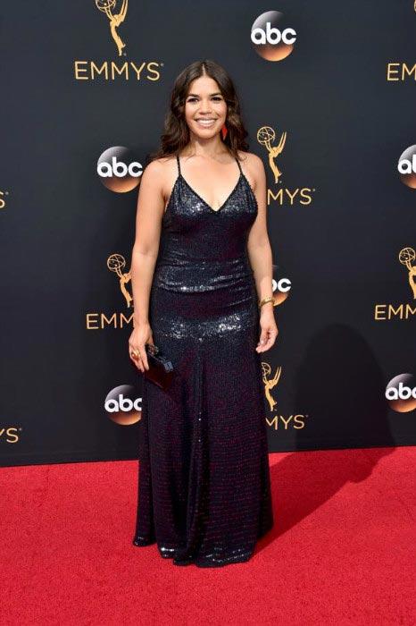 America Ferrera at the 68th Annual Primetime Emmy Awards in September 2016