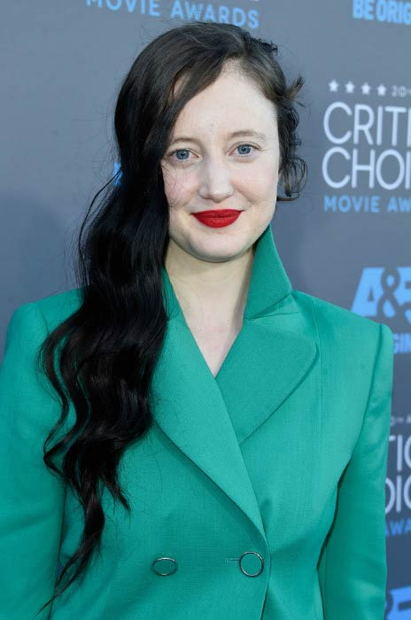 Andrea Riseborough at Critics' Choice Movie Awards in January 2015