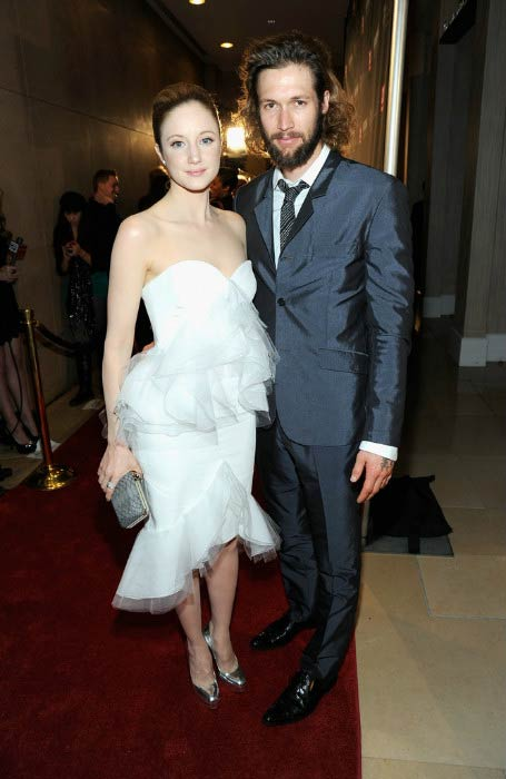 Andrea Riseborough and Joe Appel at the BAFTA Los Angeles 2011 Britannia Awards