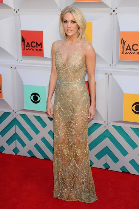 Carrie Underwood at Academy of Country Music Awards 2016 in Las Vegas