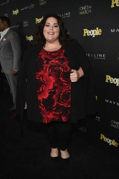 "Chrissy Metz at People's ""Ones to Watch"" event in October 2016"