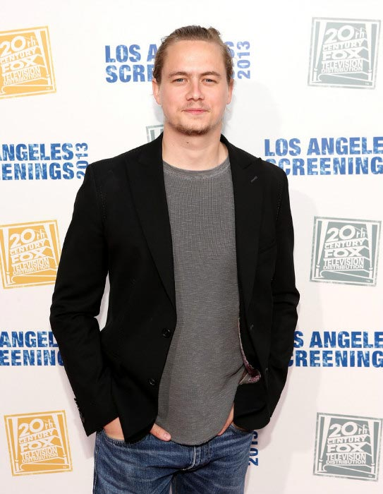Christoph Sanders at the 2013 LA Screenings Lot Party in Los Angeles
