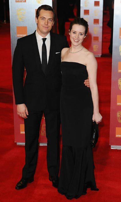 Claire Foy and Stephen Campbell Moore at Orange British Academy Film Awards on February 13, 2011