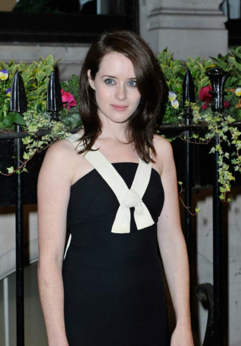 Claire Foy at the gala dinner hosted by the BFI before the London Film Festival on October 8, 2013