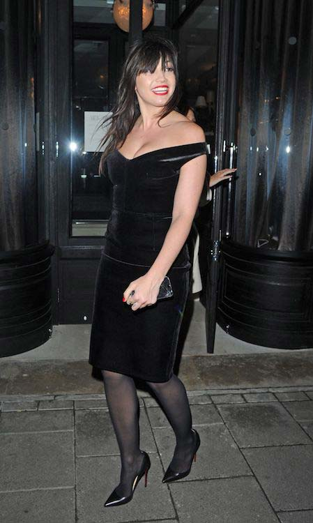 Daisy Lowe at GQ Men Collections Closing Inner in London on November 2016