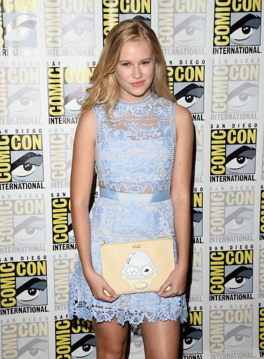 "Danika Yarosh at ""Heroes Reborn"" exclusive trailer at Comic-con International in San Diego 2015"
