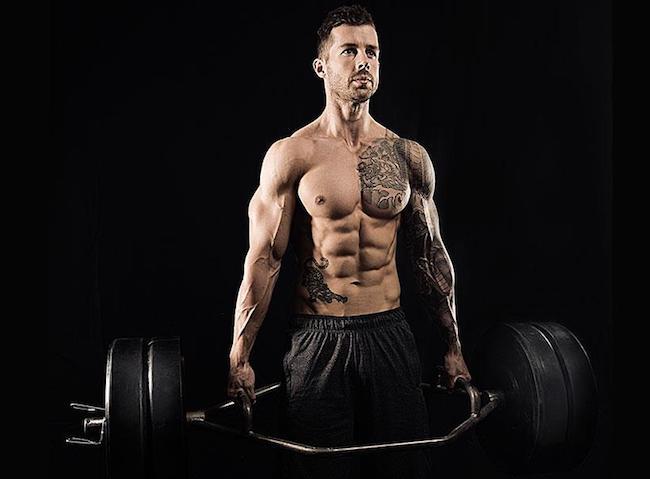 David Kingsbury lifting weight
