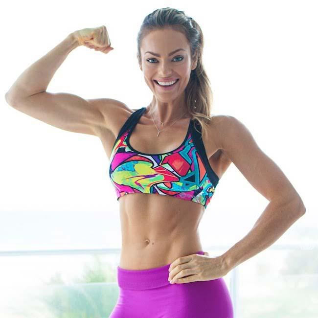 Emily Skye biceps