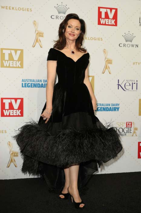 Essie Davis at the 58th Annual Logie Awards in May 2016