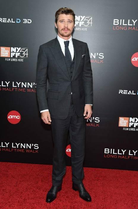 Garrett Hedlund at Billy Lynn's Long Halftime Walk event during New York Film Festival in October 2016