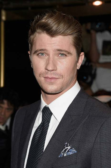 Garrett Hedlund at the Tom Ford fashion show during New York Fashion Week in September 2016