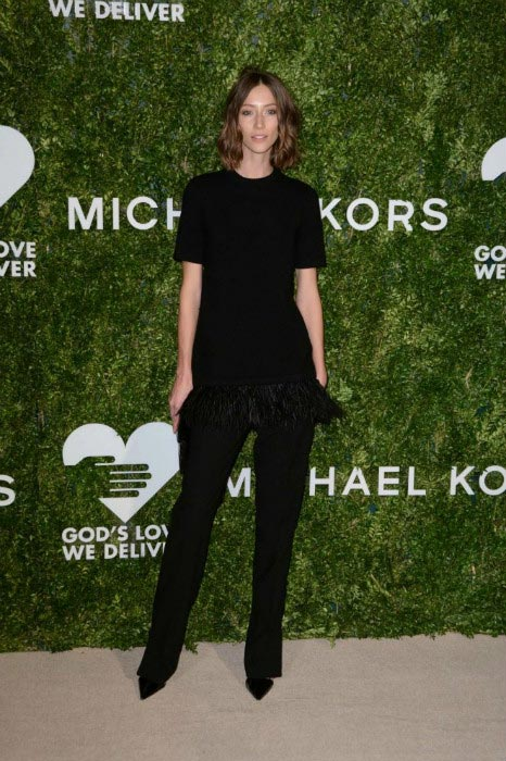 Gia Coppola at the God's Love We Deliver Golden Heart Awards in October 2016