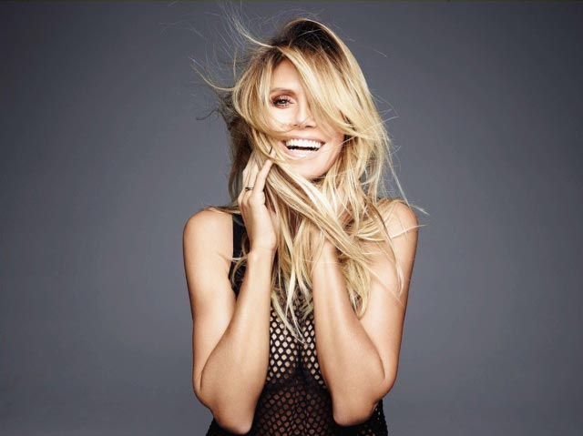 Heidi Klum Shape's December 2016 photoshoot
