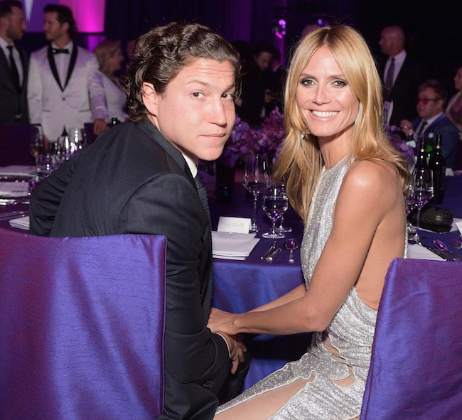 Heidi Klum and boyfriend Vito Schnabel