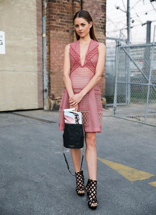 Isabelle Cornish during Mercedes Benz Fashion Week Australia 2016