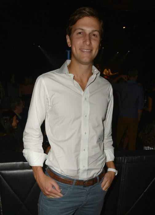 Jared Kushner at the RH Music Private Concert in NYC in September 2013