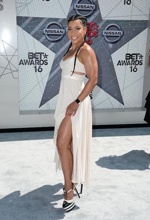 Jeanette Jenkins at BET Awards 2016