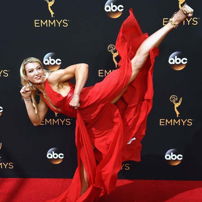 Jessie Graff high kick