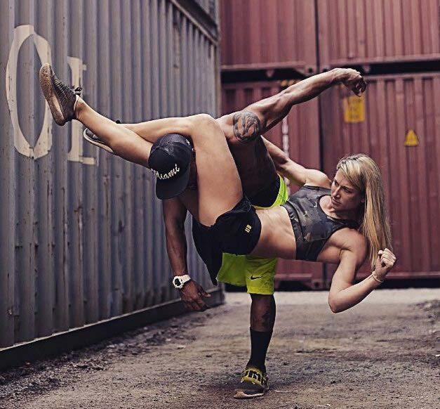 Jessie Graff stuntwoman