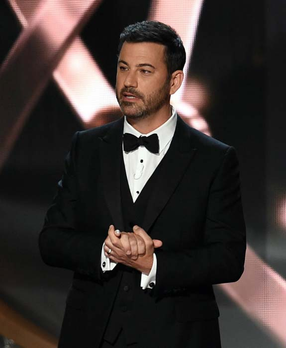 Jimmy Kimmel at the 68th Primetime Emmy Awards on September 18, 2016