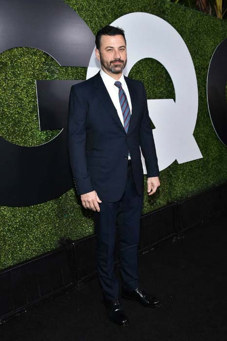 Jimmy Kimmel at the GQ 20th Anniversary Men Of The Year Party in December 2015