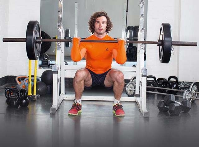 Joe Wicks squats