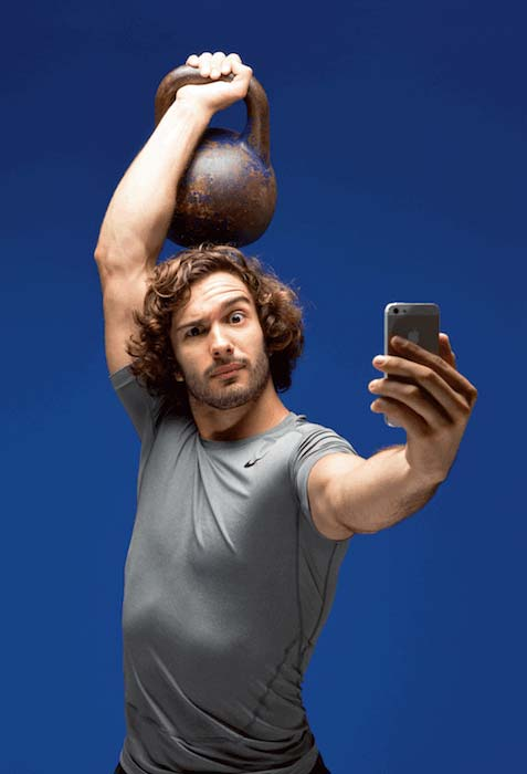 Joe Wicks workout selfie