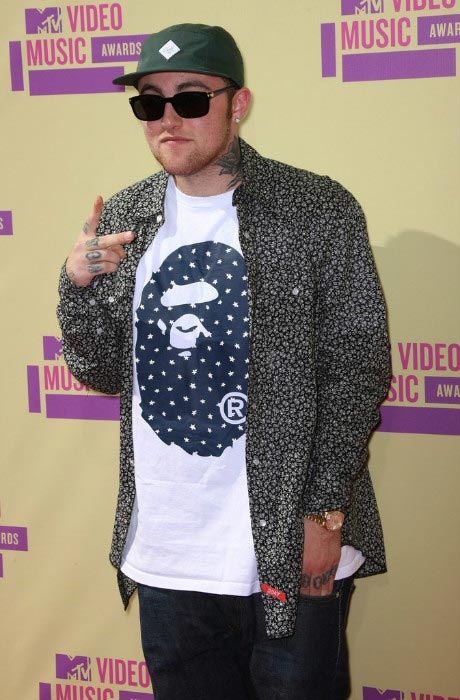 Mac Miller at the 2012 MTV Video Music Awards in Los Angeles