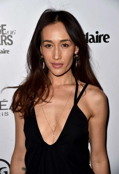 Maggie Q at Image Maker Awards organized by Marie Claire on January 12, 2016