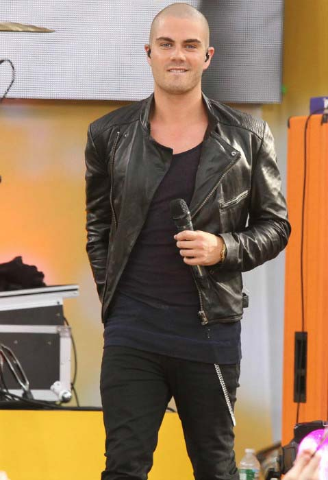 Max George performs at ABC's 'Good Morning America' in New York City in August 2013