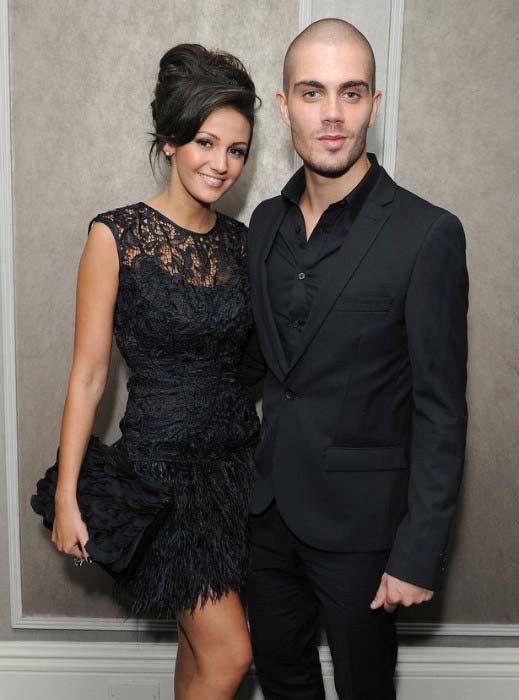 Max George ex-girlfriend Michelle Keegan event 2012